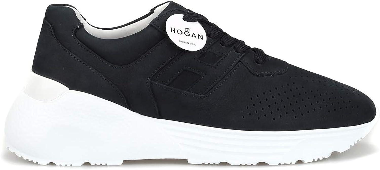 Hogan Turnschuhe Active One in Nabuk Nabuk traforato HXM4430BR106RNU810 Blau herren  Hersteller direkte Versorgung