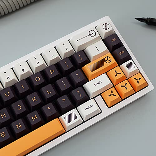 PBT keycap Cherry Profile 141 Key Dye Sublimation ANSI Layout Keycap for...