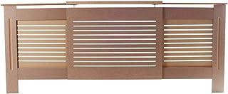 Y DWAYNE Cubierta del radiador ajustable Cubierta del radiador Exquisito E1 Tablero MDF Hogar Ajustable Radiador Cubierta Madera Color