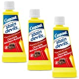 Carbona Stain Devils #2 - Ketchup, Mustard & Chocolate | Professional Strength Laundry Stain Remover | Multi-Fabric Cleaner | Safe On Skin & Washable Fabrics | 1.7 Fl Oz, 3 Pack