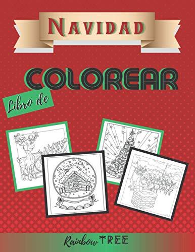 Libro de Colorear Navidad: Libro de Navidad para niños de 3 a 8 años, 9 a 12 años - Navidad Regalos Niños Niñas