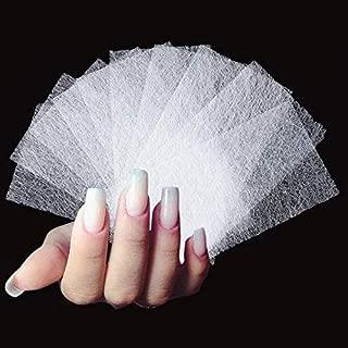 Jmkan Fiberglass Nail Art Form Fiber Quick Building False Nail Extension Nail Acrylic Tips Nail Art for Women, Girls (40 PCS)