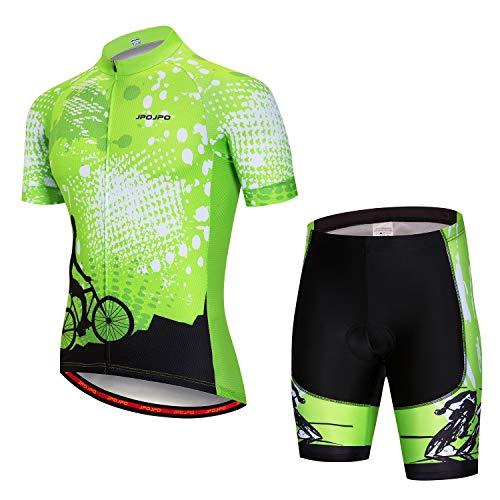 Cycling Jersey Men Summer Short Sleeve Bike Jersey Sets MTB Road Cycling Shirt Tops Bib Shorts Bottom