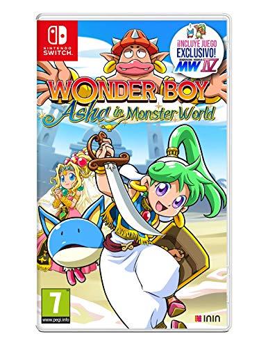 Wonder Boy. Asha in Monster World