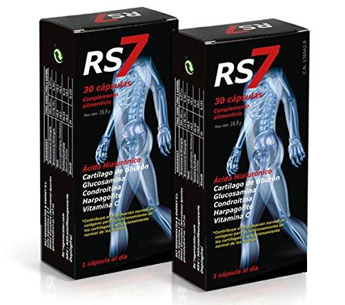 RS7 Articulaciones 60 Cápsulas + Muestra gratuita Crema Fisio Forte