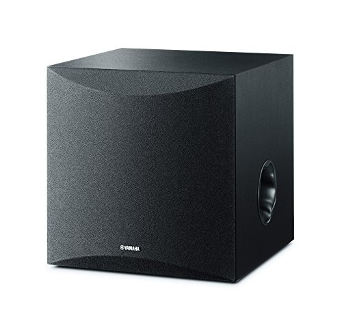 Yamaha NS-SW50 - Altavoz subwoofer amplificado (28 - 200 Hz) color negro
