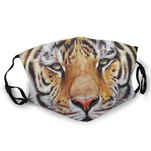 Andrews-GL - Máscara de esquí con estampado de tigre Amur para mujeres y hombres