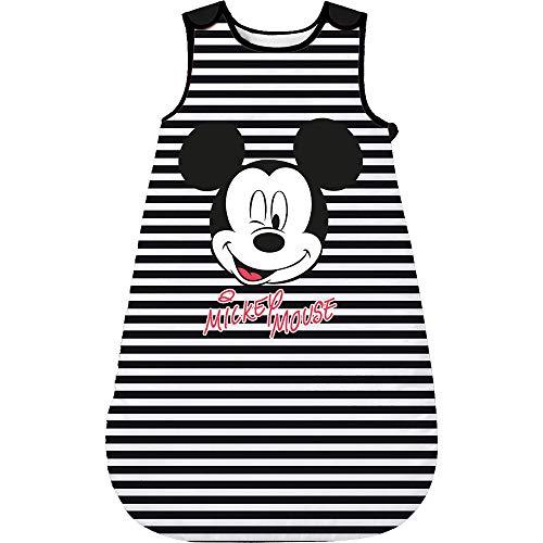 Babybogi Mickey Maus Schlafsack Baby   Disney Baby Schlafsack gefüttert   Schlafsack für neugeborene   0-18Monate 70cm 90cm 110 cm Junge Gefüttert (Dunkel Mickey, 90cm (6-18 Monate))