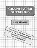 Graph Paper Notebook: 1 cm squares (metric, 120 pages)