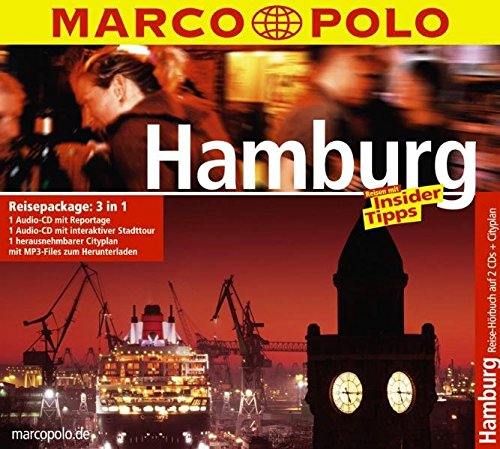 Marco Polo Reisepackage Hamburg (2 Audio-CDs + City-Plan)