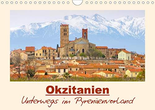 Okzitanien - Unterwegs im Pyrenäenvorland (Wandkalender 2021 DIN A4 quer)