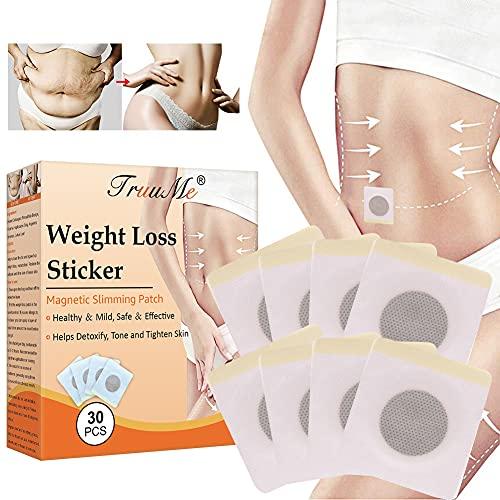 Slimming Patch, Tighten Slimming Atches, Fettverbrennung Slim Patch, Anti Cellulite & Fat Burning Quick Slimming Patch für Bierbauch, Bauchfett Taille, Eimer Taille, Starke...
