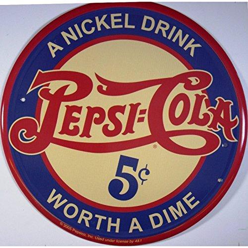 Hotrodspirit – Plaat Pepsi Cola A nikkel Drink