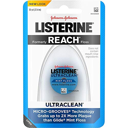 Listerine Ultraclean Zahnseide, je 27 m, 5 Stück