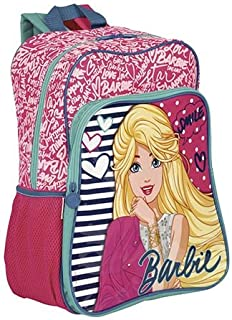 Mochila Grande C/ Bolso Barbie 18M Plus