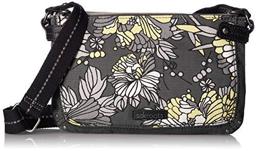 Sakroots Women's Tarzana, Slate Floral Blossoms