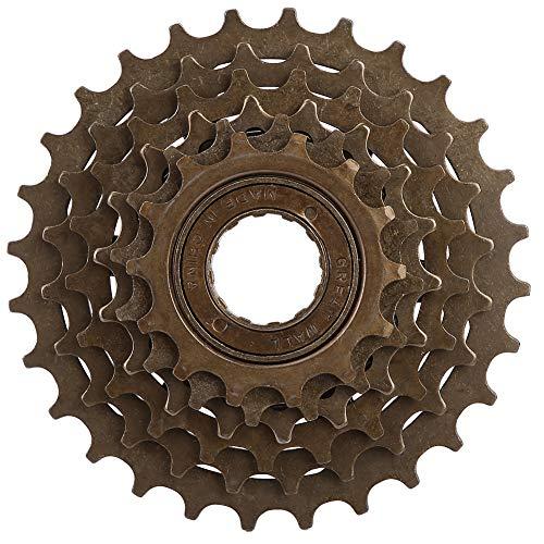 stronerliou Accesorio de Repuesto para Bicicleta de montaña Rueda Libre de Bicicleta Rueda Libre de Bicicleta Piñón de Cassette de 6 velocidades 14T-28T, Volante de Bicicleta de montaña
