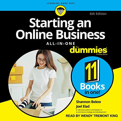 Starting an Online Business All-in-One for Dummies cover art