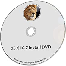 Mac OS X 10.7 Lion Full OS Install - Reinstall/Recovery Upgrade Downgrade/Repair Utility Core 2 Duo Factory Reset Disk Drive Disc CD DVD Restore Tool Disk