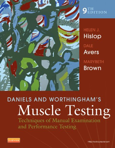 Daniels and Worthingham's Muscle Testing: Techniques of Manual Examination and Performance Testing (Daniels & Worthington's Muscle Testing (Hislop))