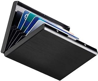 Porta Carte Di Credito Narsam, Rfid Blocco Antifrode Anticlonazione Per Uomo E Donna, Portafoglio Carta Elegante Business ...