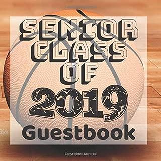 Senior Class of 2019 Guestbook: Basketball Player Fan Jock Sports Graduation Party Guest Sign In Book Registry Graduate Parties Supplies Keepsake ... Address University College High School