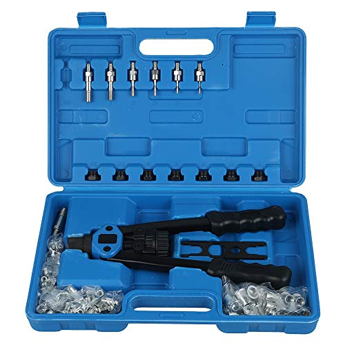 リベッター リベットナッター ナットリベッター ハンドナッター リベッターガン リベットツール リベット用工具 ハンドリベッターセット M3/M4/M5/M6/M8/M10/M12式 などに対応