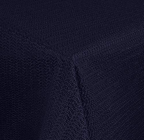 Brandseller - tuintafelkleed geschuimd - weerbestendig en antislip tafelkleed voor tuin, balkon en camping Eckig 110x140 cm blauw