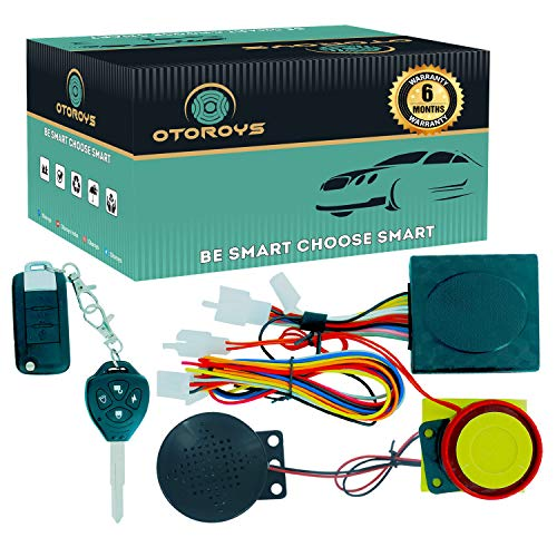 OTOROYS OTO6564 Key Universal Anti-Theft Alarm with Talking System for All Bikes