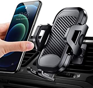 FICONEO Universal Car Phone Mount, Hands-Free Cell Phone Holder for Car Air Vent Compatible iPhone 12 Pro Max/12 Pro/12 /S...