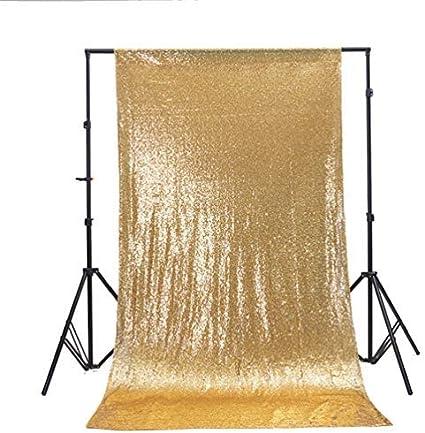 Zdada Party Photo Backdrop Sequin Backdrop Curtain Silver Glitter Backdrop 8ftx8ft