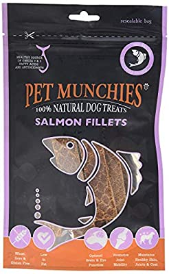 Pet Munchies Salmon Fillets, 90 g from Pet Munchies