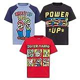 SUPER MARIO Nintendo Toddler Boys 3 Pack T-Shirts Luigi Bowser Yoshi Toad 4T