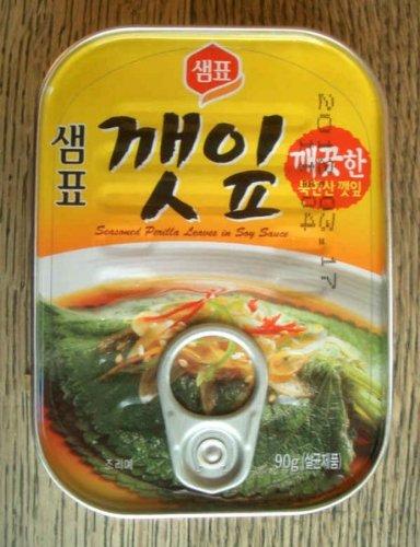 泉標 ケンニプ(えごまの葉)缶詰 90g