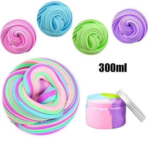 SchleimCrystal Clear Slime Schlamm Stress Relief Kids Clay Spielzeug 2oz 60g