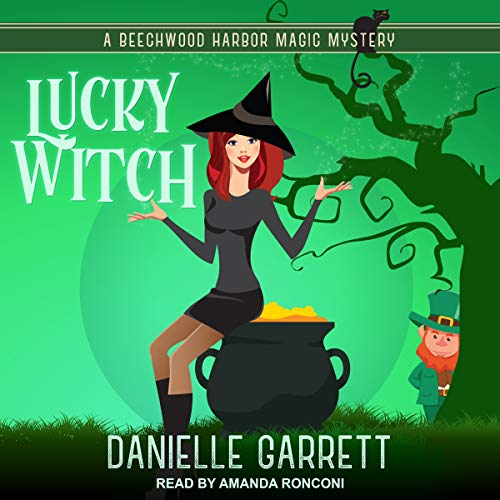 Lucky Witch audiobook cover art