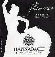 HANNABACH フラメンコ弦 E827MT Black Set