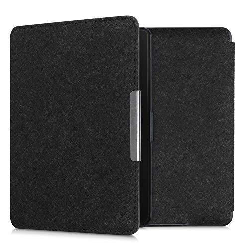 kwmobile hoes compatibel met Amazon Kindle Paperwhite – e-reader beschermhoes van vilt – zwart