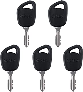 Gekufa GY20680 Ignition Keys Fit for John Deere, Cub Cadet, Delat, DR, Poulan Pack of 5