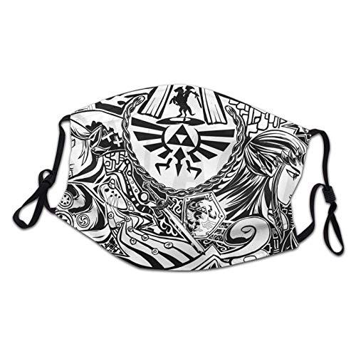 Svodar Wind Waker Legend of Zelda Face s Cartoon Cotton Breathable Reusable Adjustable Earrings
