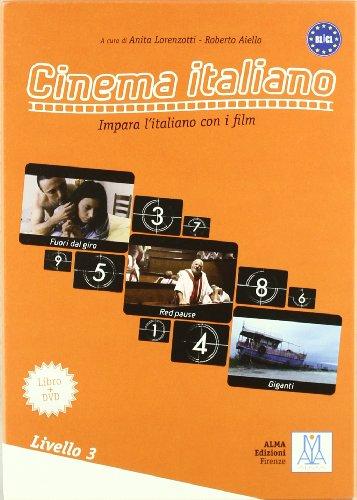 CINEMA ITALIANO 3 ALUM+DVD(9788861820982): Libro con DVD