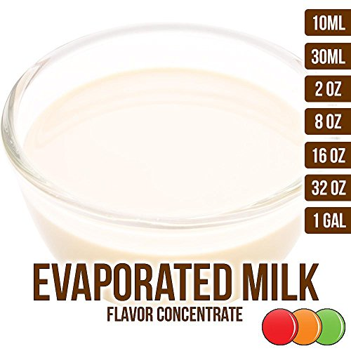 OOOFlavors Evaporated Milk Flavored Liquid Concentrate (2 oz)