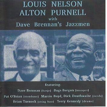 Louis Nelson & Alton Purnell with Dave Brennan's Jazzmen