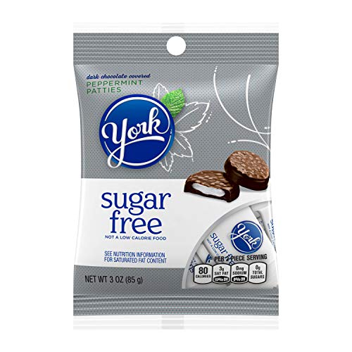 York, Sugar-Free Peppermint Patties, 3 Oz.