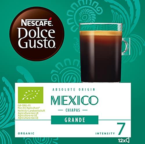Nescafé DOLCE GUSTO Café MEXICO - Total 12 cápsulas