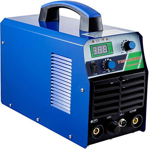 Mophorn Tig Welder 160 Amp Tig Stick Welder 110V 220V Dual Voltage Portable Tig Welding Machine TIG ARC MMA Stick IGBT DC Inverter Welder Combo Welding Machine(TIG 160 Amp 110 220V)