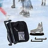 CHOYTONG Protector de patinaje, Soakers y Towel Set – Protectores de patinaje sobre la hoja del traje de protección para hockey, imagen (M)