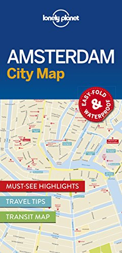 Lonely Planet Publications: Lonely Planet Amsterdam City Map