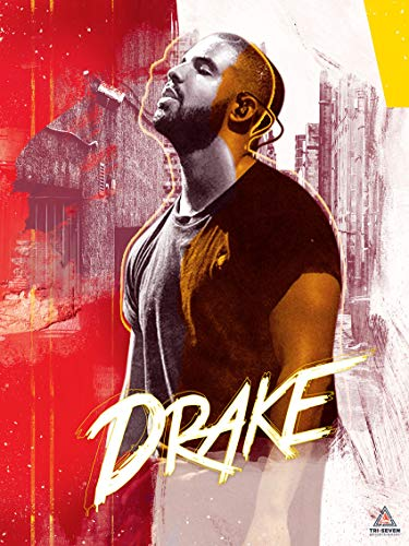 777 Tri-Seven Entertainment Drake Poster Wall Artwork Print, 18x24, Multicolor