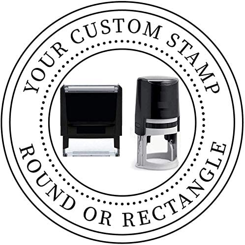 Choose Size Logo Stamp Custom Stamp Personalized Business Stamp Business Logo Stamp Business product image